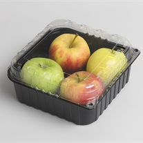 apples - clamshell tray