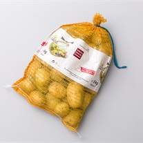 potatoes - knitted net bags