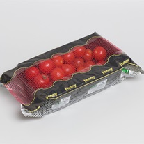 tomatoes - plastic tray with flow-fresh film